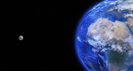 Cuando la Luna no era un pedrusco: un grupo de científicos especulan con la posibilidad de que nuestro satélite fuera habitable