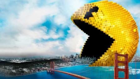 'Pixels', cartel final de los videojuegos dominando la tierra