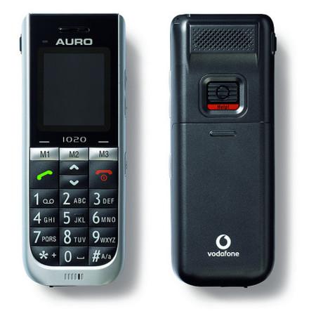 Vodafone Auro, teléfono móvil para personas mayores