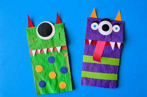 ¡Terroríficas! 11 manualidades sencillas de Halloween para niños