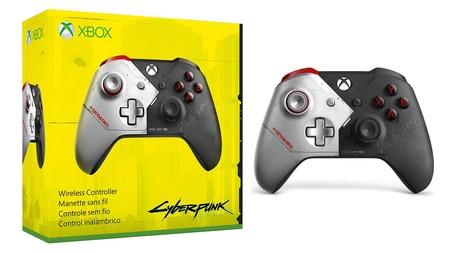 Cyberpunk Xbox One Controller