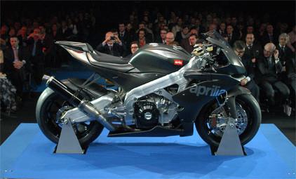 """Presentada oficialmente la Aprilia RSV 4 """"Race Machine"""""""
