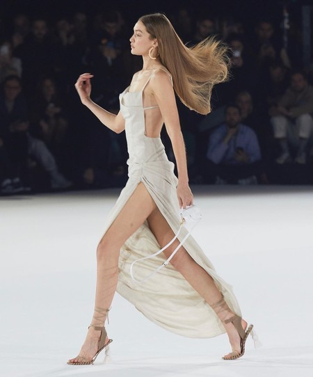 Gigi Hadid Jacquemus Dress 02