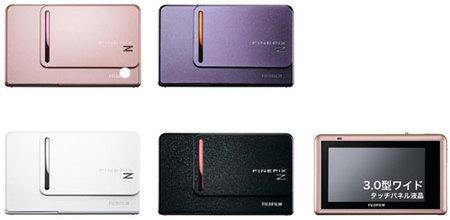 FinePix Z300, con pantalla táctil