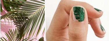 Mentalmente estamos en Hawái y nuestras manicuras llenas de palmeras y flores tropicales lo dejarán bien claro