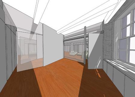 Diseño realizado con Google SketchUp