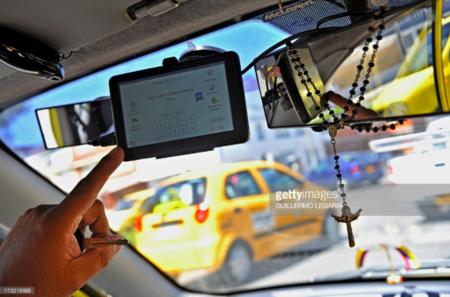 taxistas en Colombia