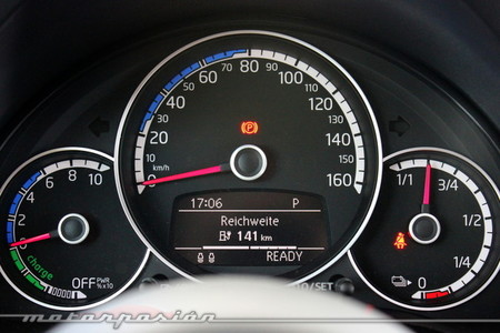 Volkswagen e-up! - panel de instrumentos