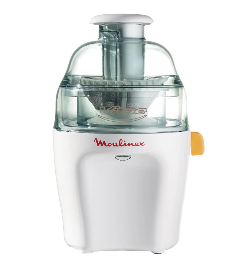 Licuadora Moulinex Vitae JU200 con tapa y contenedor pulpa transparentes