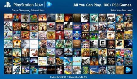 El modelo por suscripción llega este mes a PlayStation Now con dos planes distintos