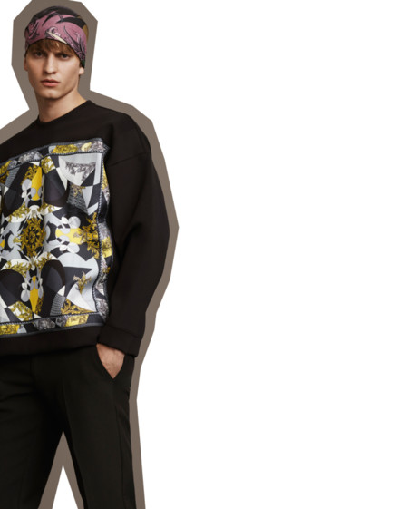 Versace Collection Fall Winter 2015 Mens Lookbook 007