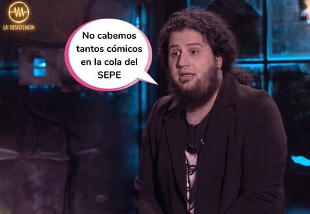 """El cómico Jaime Caravaca habla sobre su inesperado despido de 'La Resistencia': """"Me han echado después de cuatro años"""""""