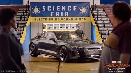 Audi e-Tron GT comparte la pantalla grande en Spider-man: Far From Home