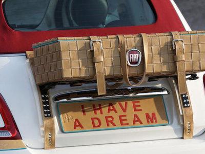 Un coche (vintage) de ensueño: Fiat 500 x Stefano Conticelli