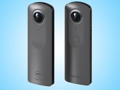 Ricoh sube hasta la resolución 4K en su apuesta por las cámaras de grabación en 360 grados