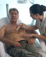 Harrison Ford se depila para protestar