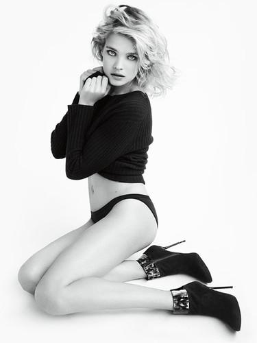 La inocencia sexy de Natalia Vodianova como imagen de Stuart Weitzman