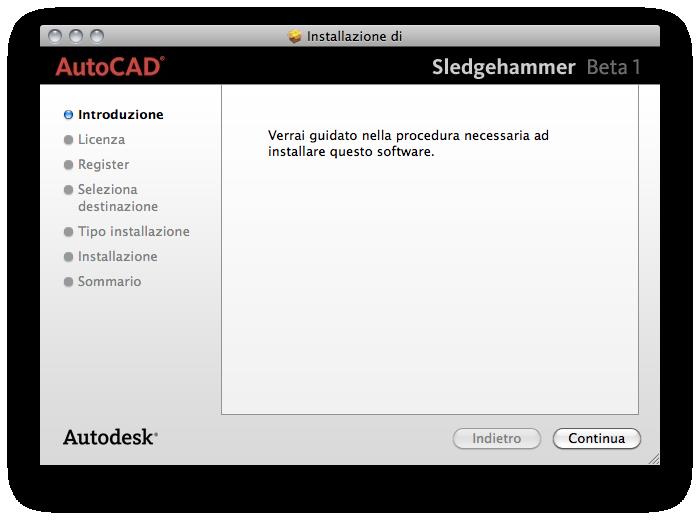 """Foto de Autocad beta1 """"Sledgehammer"""" para Mac (1/6)"""