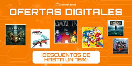Las Ofertas Digitales llegan a Nintendo Switch: hasta un 75% de descuento en juegazos. Aquí tienes las mejores rebajas