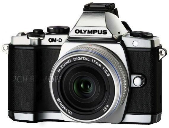 Olympus OM-D E-M5 plata