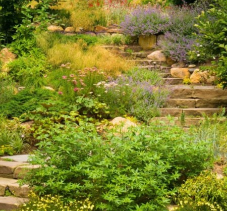 Dp Barry Block Cottage Outdoor Stone Staircase S4x3 Jpg Rend Hgtvcom 1280 960