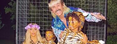 Kylie Jenner y Kim Kardashian muestran sus primeros disfraces de Halloween: Power Rangers y Tiger King