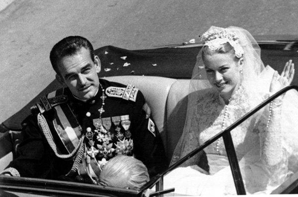 boda de Rainiero de Mónaco y Grace Kelly