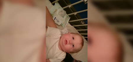 Una madre comparte el video de su bebé con espasmos para crear conciencia sobre el Síndrome de West