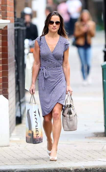 Pippa Middleton retro vestido