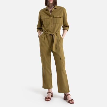 Vestido largo sin mangas