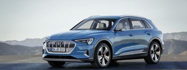"""El Audi e-tron es el 100% eléctrico que promete más de 400 km de autonomía e incluye """"espejos virtuales"""""""