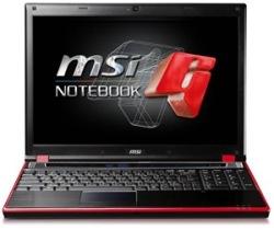 MSI GT627, 15.4 pulgadas con una 9800M