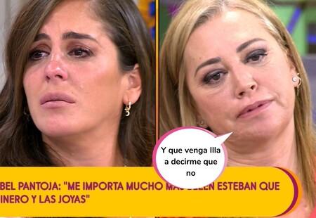 Belén Esteban y Anabel Pantoja se saltan los protocolos de seguridad tras una calurosa discusión y una amenaza de abandono