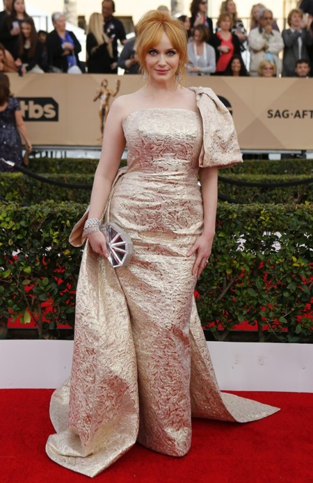 Christina Hendricks Christian Siriano