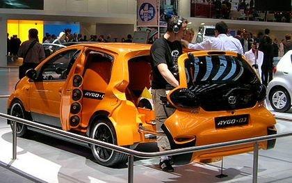 Toyota Aygo DJ Concept