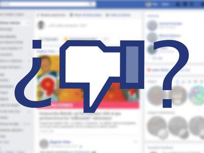 Facebook está probando un botón para votar negativo y no se trata de un 'no me gusta'
