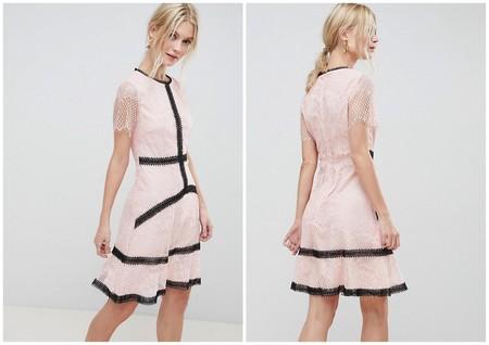 Vestido Rosa Rebajas Asos