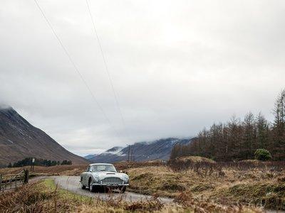 Aston Martin producirá 25 unidades del DB5 Goldfinger, solo para millonarios fans del agente secreto 007