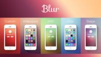 Blur, el generador de fondos de pantalla ideal para iOS 7