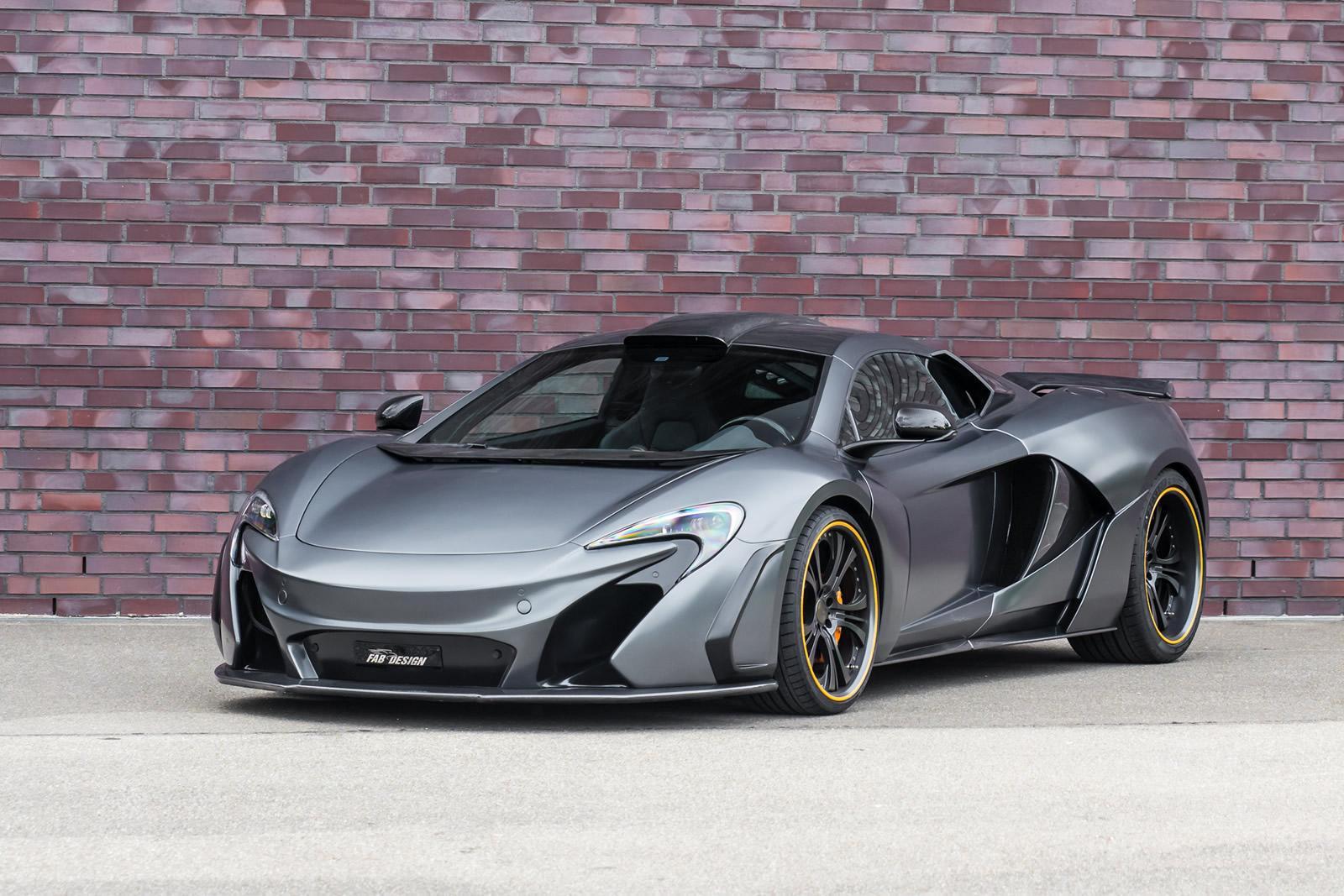 Foto de McLaren 650S FAB Design (1/5)