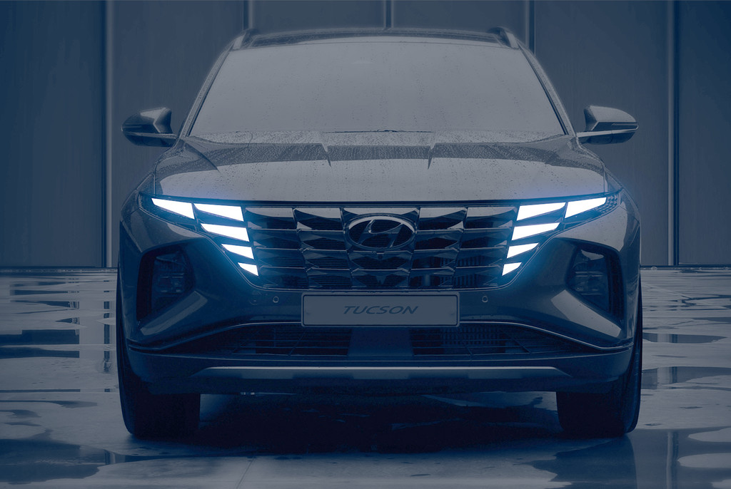 El Hyundai Tucson 2021 se asoma en estos teasers, con un diseño sin miedo a la polémica