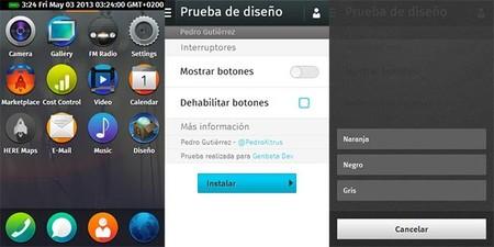 Empezando a diseñar en Firefox OS, pautas básicas y uso de la UI