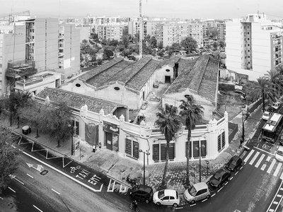 Bombas Gens, un edificio industrial que está siendo rehabilitado por Ramón Esteve
