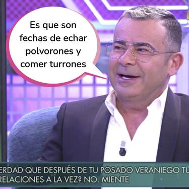 Jorge Javier Vázquez revela en el polígrafo con qué colaboradores de 'Sálvame' le hubiera gustado tener una noche loca