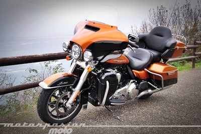 Harley-Davidson Ultra Limited FLHTK, prueba (características y curiosidades)