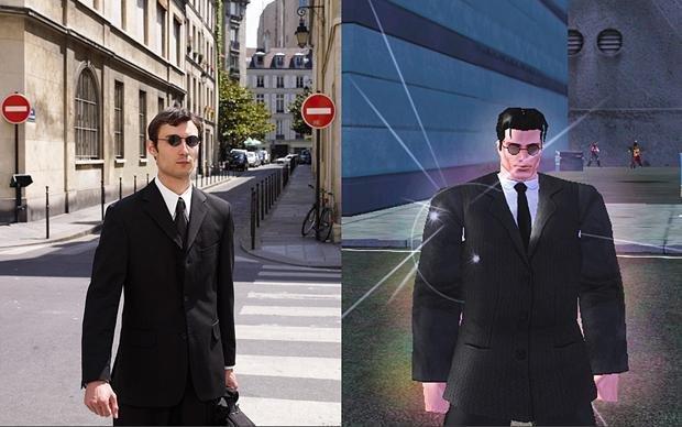 Jugadores de MMORPGS y sus avatares - Robbie Cooper