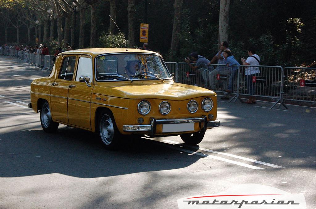 Foto de Renault 8 TS en el Martini Legends de Montjuïc (1/7)