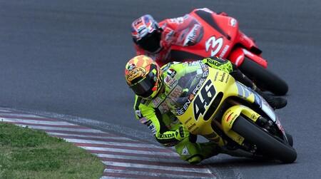 Rossi Biaggi Japon 500cc 2001