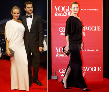 Vestido de Chanel: ¿Diane o Kate?