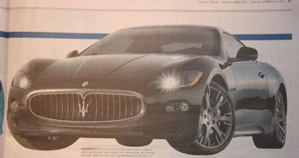 Maserati GranTurismo S, presentación en Ginebra